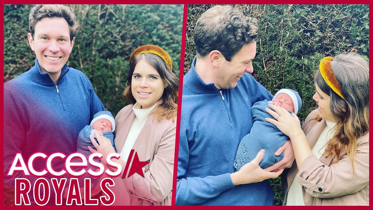 Princess Eugenie Shares First Full Photos Of Baby Boy