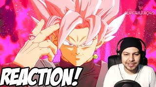 BEERUS, HIT & ROSE GOKU BLACK LOOK AMAZING! - Dragon Ball FighterZ Goku Black, Hit & Beerus REACTION