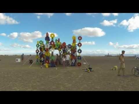 Afrika Burn 2015 ChildPlay Art Build