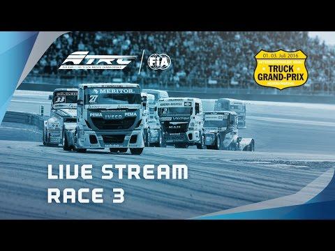 FIA European Truck Racing Championship Round 4 - Race 3 LIVE