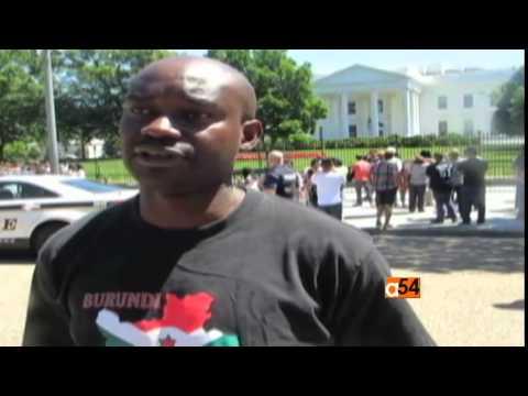 Burundi Politics and Washington Protest