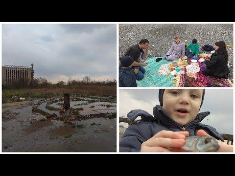 Пикник в Эшере на 23 февраля. Абхазия 2019