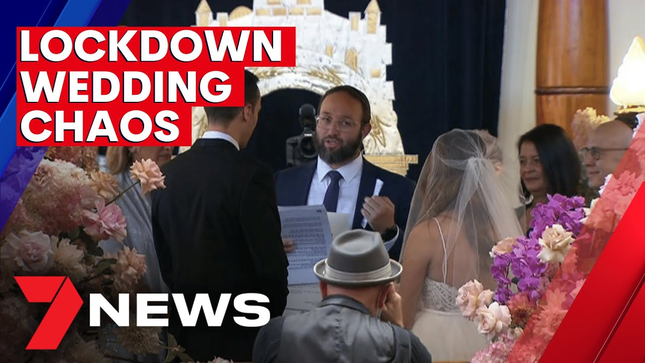 Victorian couples rush to get married before snap COVID 20 lockdown   20NEWS
