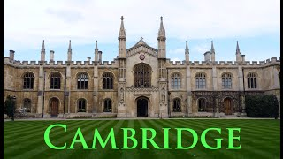 Cambridge in Springtime - A tour in the University town - GoPro HD