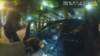 Bodycam video shows tasing and arrest of two Atlanta college students, two officers arrested