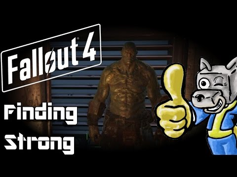 Fallout 4 - Episode 16 - Finding Strong and the Trinity Tower (Super Mutant Follower)