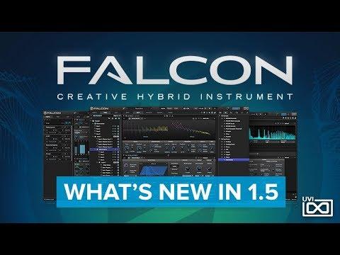 UVI Falcon | What's new in v1 5?