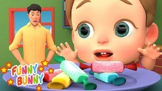 Johny Johny Yes Papa Song   Nursery Rhymes   Funny Bunny