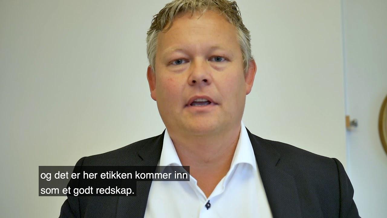 Christer Mortensen promoterer Psykologikongressen 2019