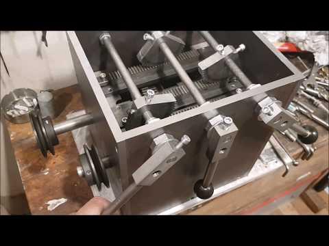 Homemade Lathe Headstock EXTERNAL Gearbox