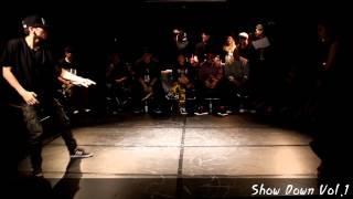 Best16-7 박수찬 VS 전혜지 SHOW DOWN VOL.1 All STYLE 1:1 ROOKIE BATTLE -KAC한국예술원