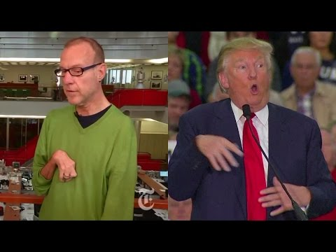 Thumbnail: Trump Mocks Reporter's Disability, Claims They Never Met. Met Him 12 Times