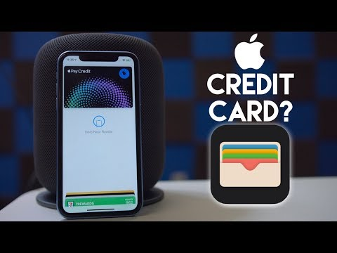 Apple making their own Credit Card?