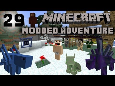 Minecraft Modded Adventure #29 Evil Overlord |