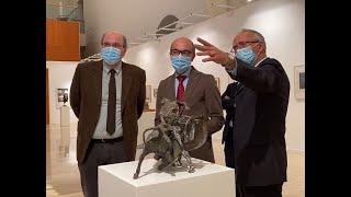 Picasso, Dalí o Matisse 'dialogan' con Venancio Blanco en una muestra que le rinde homenaje
