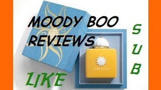 Amouage Sunshine by MOODY BOO REVIEWS 2015