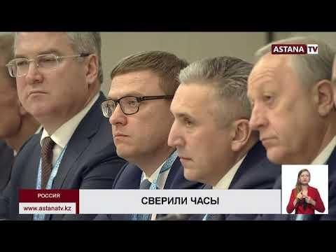 Токаев и Путин обменялись эксклюзивными подарками