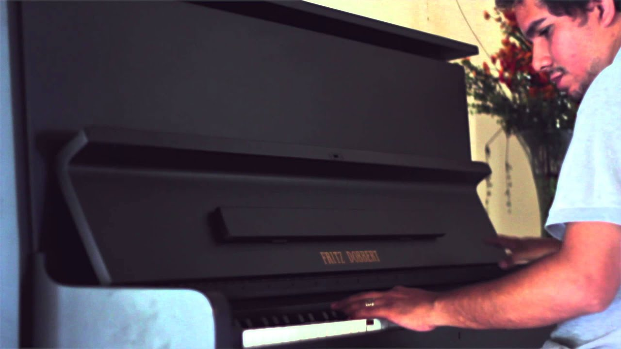 5075a45b1c3b2 Vendo meu PIANO VERTICAL FRITZ DOBBERT - FD126 - YouTube