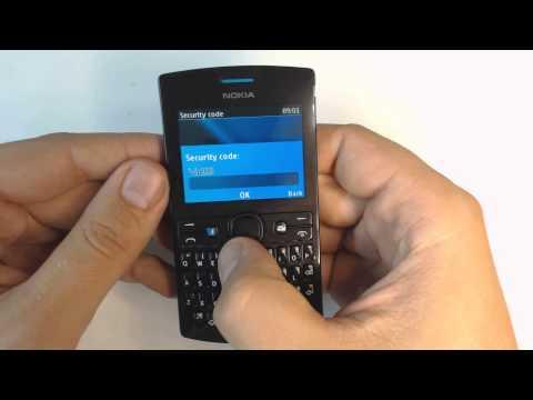 Nokia Asha 205 factory reset