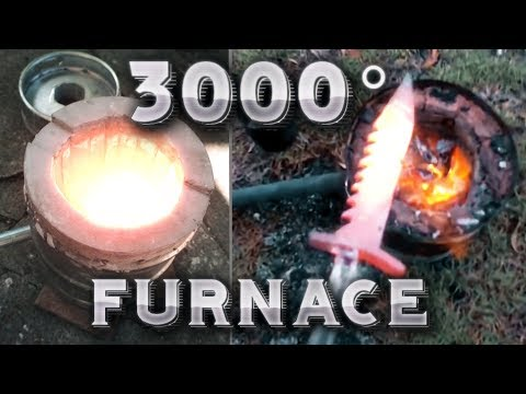 ★ 3000° Furnace / Forge that Melts Everything