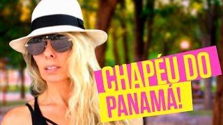 Fui buscar meu chapéu no Panamá - Viagem - Adriane Galisteu