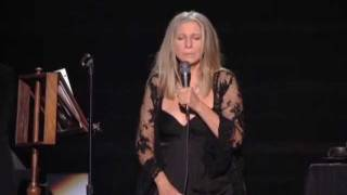 Barbra Streisand-Windmills of your mind-Live 2011-best quality