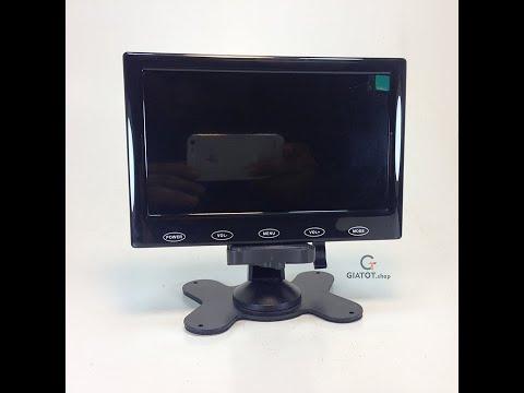 GIATOT.shop | Giới thiệu Mở hộp đánh giá màn hình LCD 7inch và 10inch | đầy đủ phụ kiện.