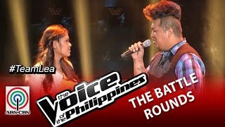 "The Voice of the Philippines Battle Round ""Against All Odds"" by Charles Catbagan and Julienne Caneda"