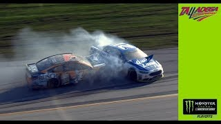 Blaney, Harvick get tangled up in wreck at Talladega