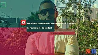 Estimation ponctuelle et par intervalle de confiance_ loi normale_loi de student