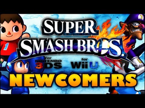 Super Smash Bros. for Wii U/3DS - 10 Character Wish List