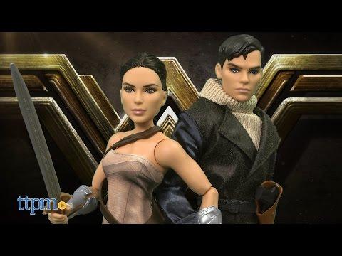 Wonder Woman Steve Trevor and Wonder Woman from Mattel