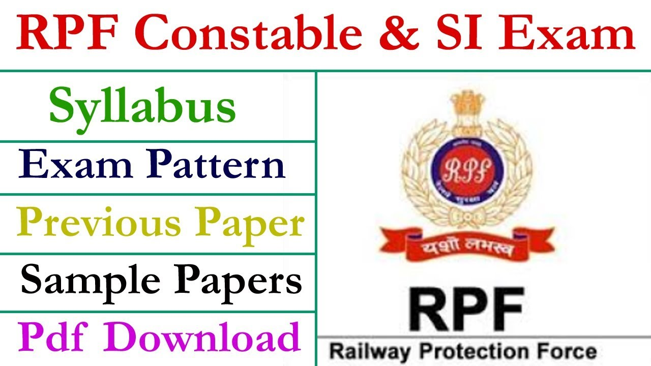 Rpf Constable Recruitment 2015 Application Form Pdf