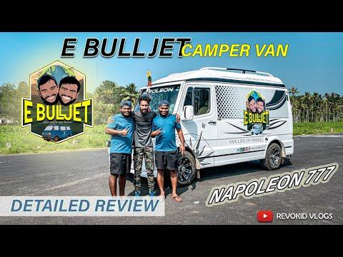 E Bull Jet Camper Van - Napolean 777 | OJES Automobiles | Revokid Vlogs
