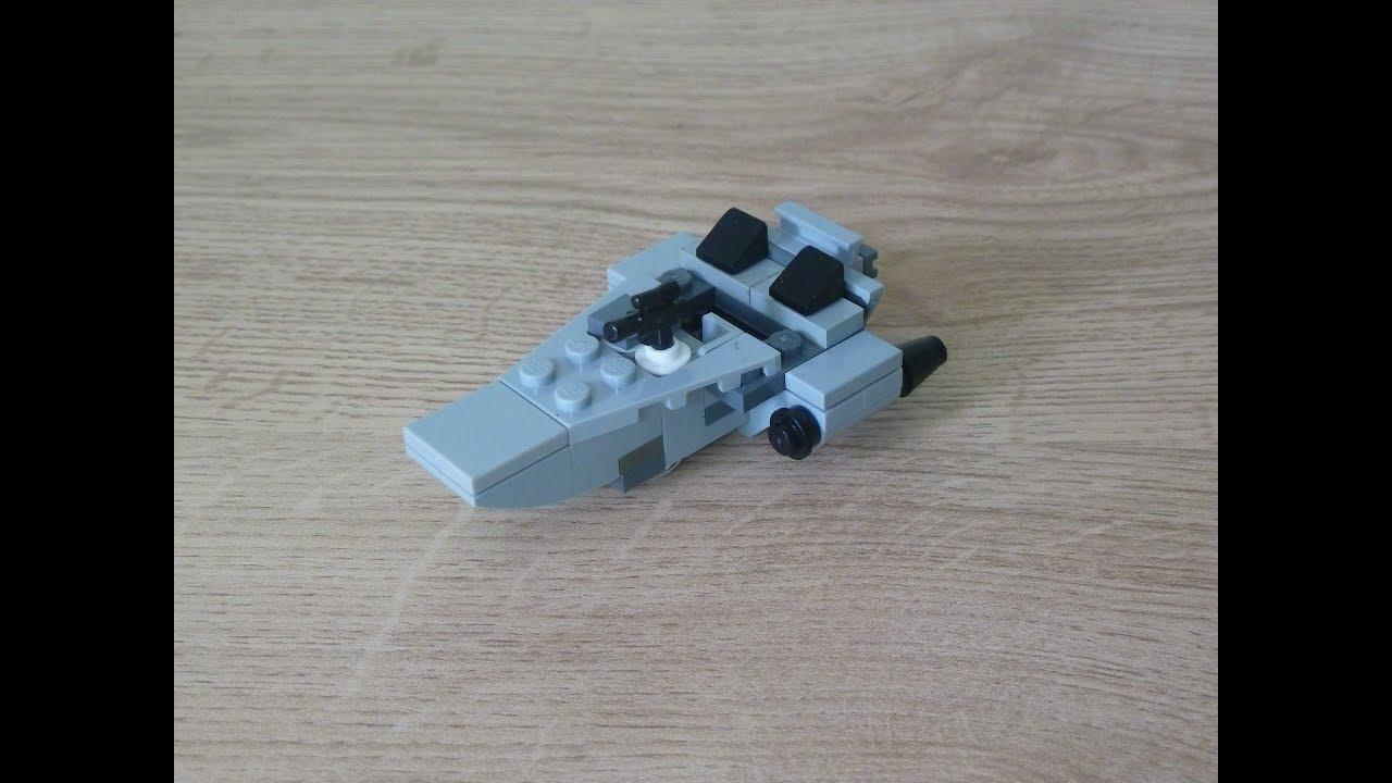 Lego Star Wars First Order Snowspeeder Instructions Magazine Gift