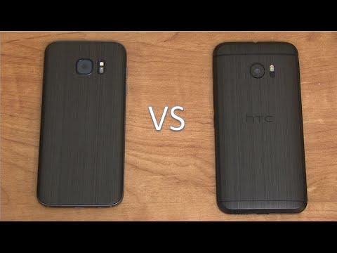 Samsung Galaxy S7 vs. HTC 10!