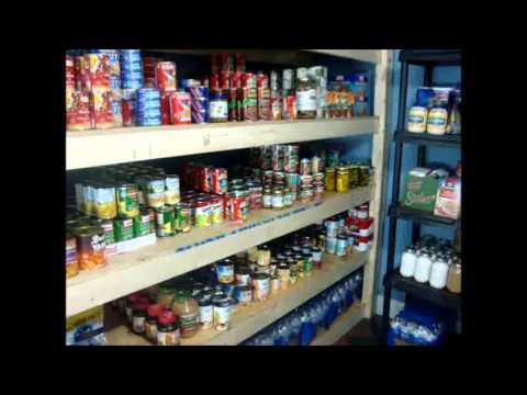Food Storage Shelf You Can Build & Food Storage Shelf You Can Build - YouTube