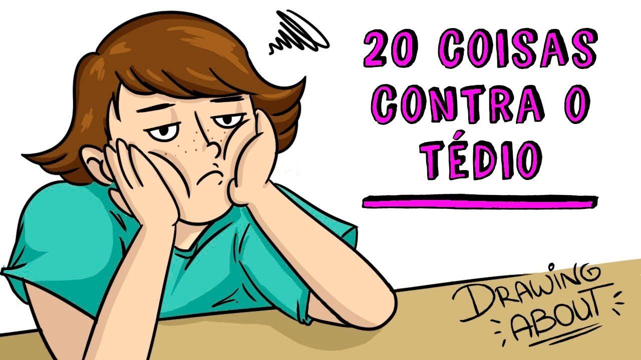 20 coisas contra o tédio 👆 Draw My Life Português