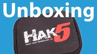 Hak5 Essentials Field Kit | Unboxing, Overview