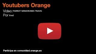 PARROT Minidrones Travis Comunidad Orange