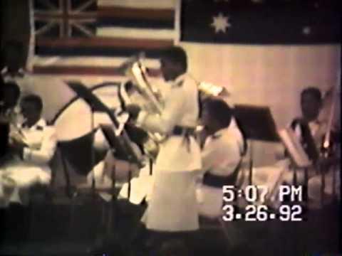 1992 TPCBB at Pacific Basin Band Festival in Hawaii - 2