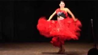 Хеста Хариста (Елена Дружнова). Испанский танец