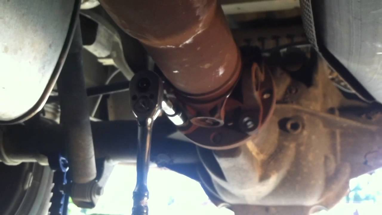 Ford Ranger Driveshaft Removal