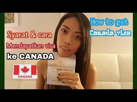 #RubyDehadz How To Get Canada Visa/ Cara Mendapatkan Visa Ke Canada || Turis Visa