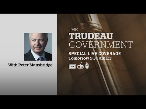 CBC News special: Trudeau and cabinet swearing in LIVE