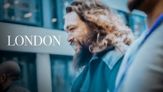 We're in London! | Jason Momoa Aquaman Tour
