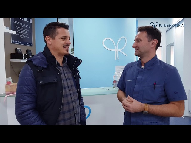 Poliklinika Ribnjak - Goran Vlaović na tretmanu autolognom plazmom
