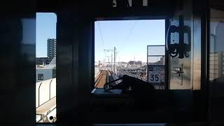 京成金町線 3500形京成金町行き 京成高砂→京成金町