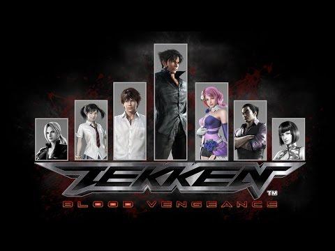 TEKKEN Blood Vengeance / Jin vs Kazuya vs Heihachi