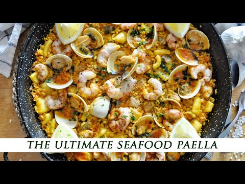 How To Make A SEAFOOD LOVERS Spanish Paella